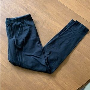 Medium fitted stretch leggings. By Old Navy.